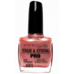 VERNIS A ONGLES TENUE & STRONG PRO PECHE ROSEE N°401