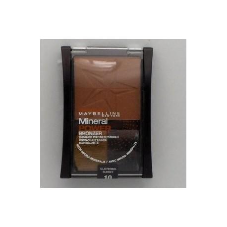Poudre Mineral Power Gemey Maybelline bronzer