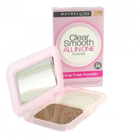Clear smooth powder all in one - spf25 - 07 caramel